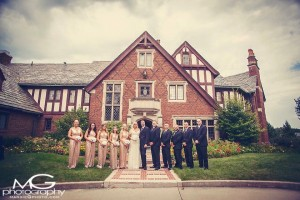 The Stunning Bridal Party